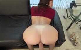Latina Babe With Beautiful Butt Nice Banged On Doggy