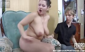 Young Boy was a Good Fucker Of Slutty Mom Of his Best Friend